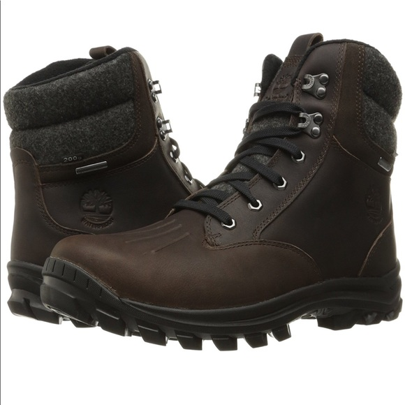 8a2fe3cfe33 Timberland Men's Chillberg Mid WP Insulated Boot NWT